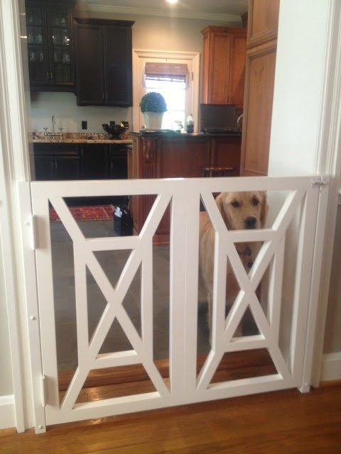 Now that is a baby gate! from Lucy Williams Interiors