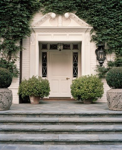 Love the sidelights and large front door... hautemamasfave.tumblr.com