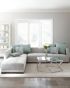 I love this crisp and clean style. shopstyle.com