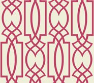 I really could go on and on with this trellis ones...can't you see this is mud room to brighten every day! york wallpaper