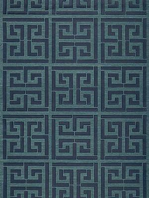 This is my current wallpaper obsession...unfortunately the photo doesn't do it justice...sisal with overlay of a sort of wax greek key...to die for!!! and it is really a true navy. f. schumacher