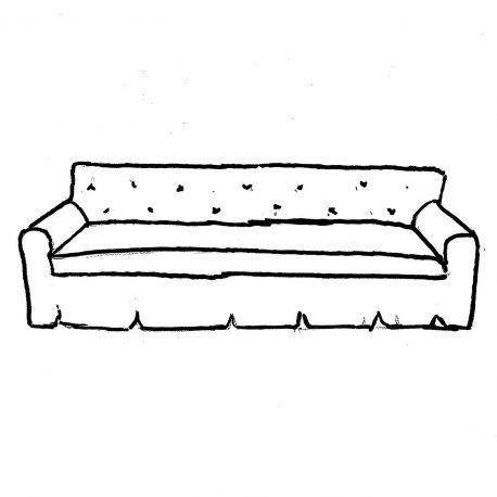 The Living Room Sofa